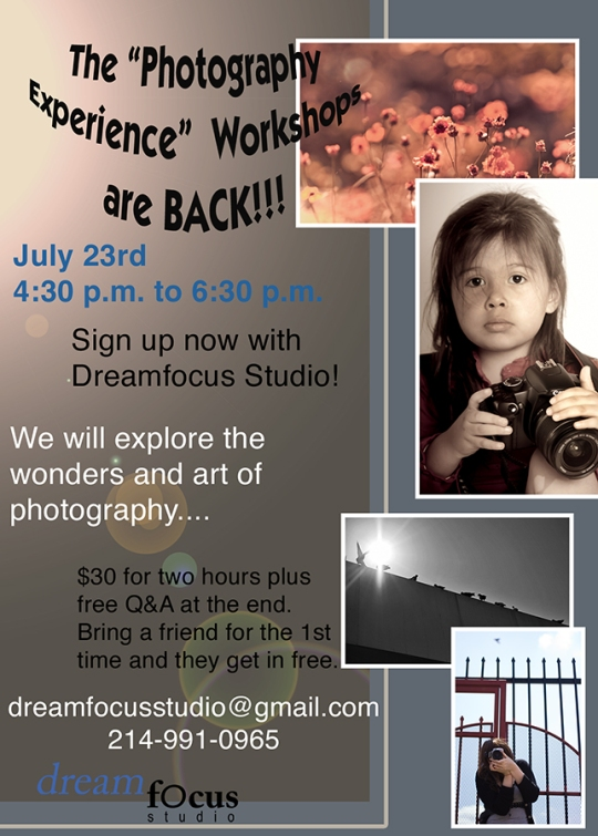 The Photography Experience Workshop