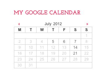 Dreamfocus Studio Google Calendar