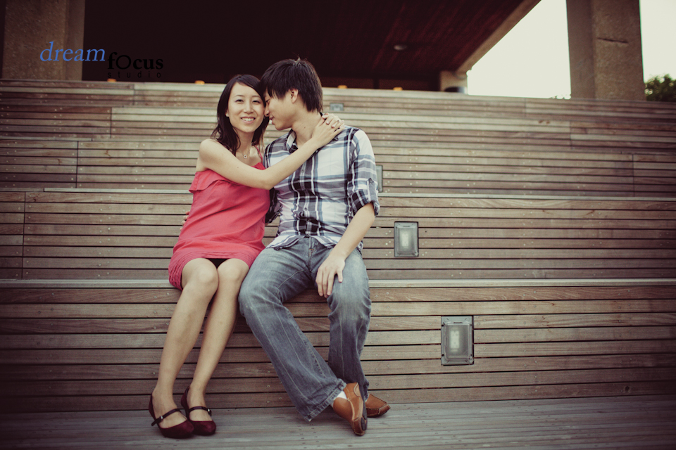 engagement photography utd campus