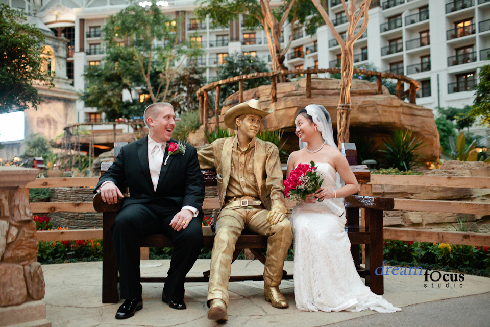 wedding photographer gaylord texan